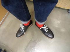 新人 公式ブログ/ファッションチェ〜ク 赤をポイントに 画像3