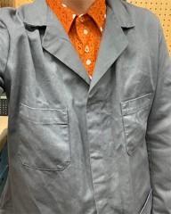 新人 公式ブログ/ファッションちぇ〜く  グレーとオレンジ 画像1