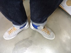新人 公式ブログ/ファッションチェ〜ク ポイントカラーは青 画像3