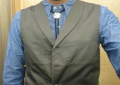 新人 公式ブログ/ファッションチェーク ジレ? 画像1