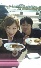 愛川ゆず季 公式ブログ/青空カレー 画像2