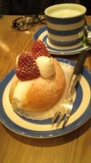 滴草由実 公式ブログ/苺サンド 画像1