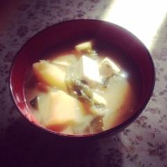滴草由実 公式ブログ/マイみそスープ 画像1