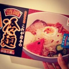 滴草由実 公式ブログ/つるっと冷麺! 画像1