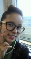 滴草由実 公式ブログ/電車にて 画像1