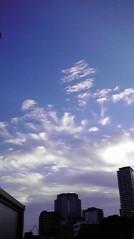 滴草由実 公式ブログ/こんな空も発見 画像1