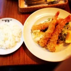滴草由実 公式ブログ/えびフライ 画像2