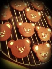 滴草由実 公式ブログ/クマさんのチョコクッキー 画像1