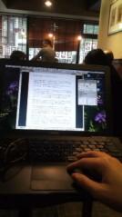 滴草由実 公式ブログ/カフェにて 画像1