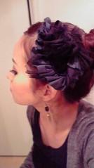 滴草由実 公式ブログ/髪飾り♪ 画像1