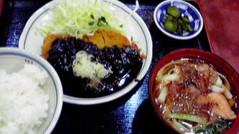 滴草由実 公式ブログ/味噌カツ&きしめん 画像1