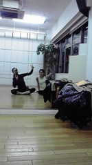 滴草由実 公式ブログ/ダンススタジオにて 画像1