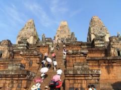 道祖土絵美 公式ブログ/カンボジアでのひと仕事� 画像2