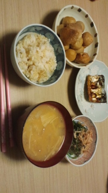 手作り晩ご飯
