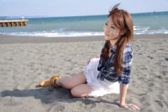 木下愛未 公式ブログ/海での撮影〜 画像1