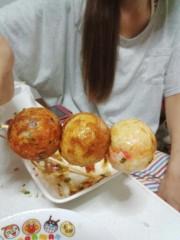 平野春菜 公式ブログ/たこ焼き焼いてくれるぅ〜ってゆ〜人! 画像3