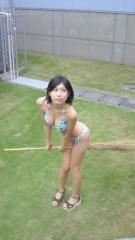 倉岡生夏 公式ブログ/お外で水着! 画像2