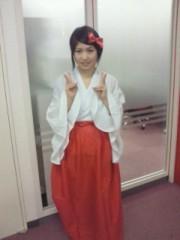 倉岡生夏 公式ブログ/巫女さんきなねこさん 画像1