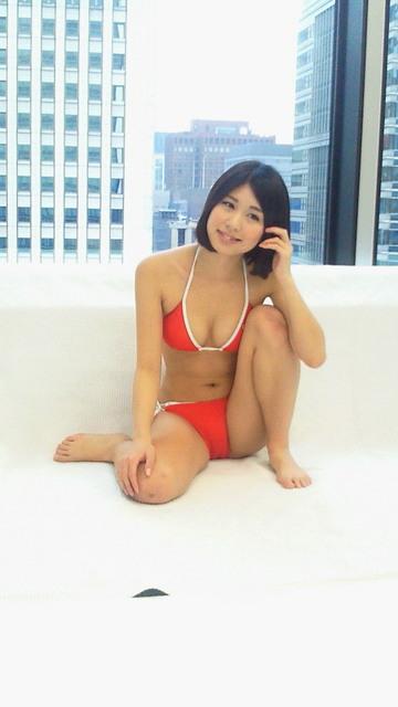 倉岡生夏さんのビキニ