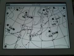 今井仁美 公式ブログ/気象天気図 画像1