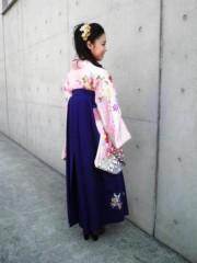 今井仁美 公式ブログ/後ろ姿 画像1