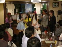 今野ゆきみ プライベート画像/そば屋ライブ 20120519-205540