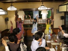今野ゆきみ プライベート画像/そば屋ライブ 20120519-205104