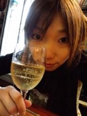 神木智佳 公式ブログ/ワイングラスに 画像1