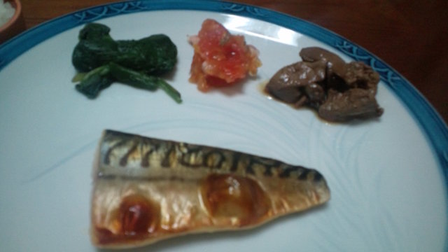 リハビリ食2013-9-18晩