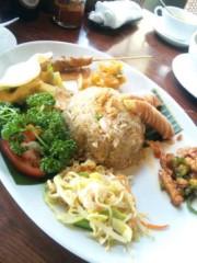 咲乃藍里 公式ブログ/ アジアン料理で豊洲なラプンツェル。 画像1