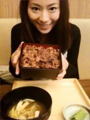 麻井美李 公式ブログ/国産和牛重と牛丼の違いって・・? 画像1