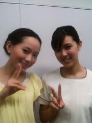 麻井美李 公式ブログ/TBC撮影(*^ ー^)ノ♪ 画像2