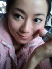 麻井美李 公式ブログ/今日のチークは 画像1
