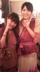 麻井美李 公式ブログ/最後はらんとチビらんのツーショット 画像1