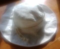 古郡ひろみ 公式ブログ/白い帽子 画像1