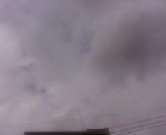 古郡ひろみ 公式ブログ/厚い雲 画像1
