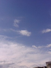 古郡ひろみ 公式ブログ/青空 画像1