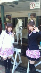 ここあ(プチ☆レディー) 公式ブログ/白のお馬とプチ☆レディー♪女性マジシャンここあ 画像1