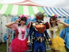 ここあ(プチ☆レディー) 公式ブログ/仮面ライダー鎧武と写真撮影☆女性マジシャンここあプチ☆レディー 画像1