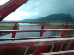 ここあ(プチ☆レディー) 公式ブログ/四万十川赤鉄橋☆女性マジシャンここあプチ☆レディーマジック 画像3