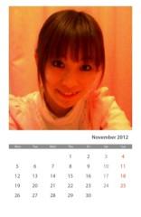 ここあ(プチ☆レディー) 公式ブログ/今月のカレンダーだよん♪♪ 画像2