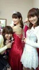ここあ(プチ☆レディー) 公式ブログ/瞳ナナさん真っ赤なドレス☆女性マジシャンここあ画像 画像2