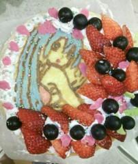 ここあ(プチ☆レディー) 公式ブログ/初音ミクが描かれたミルクレープ☆女性マジシャンここあプチ☆レディーマジック 画像1