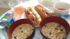 ここあ(プチ☆レディー) 公式ブログ/お家朝食♪♪女性マジシャンここあ画像 画像1