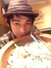 標永久 公式ブログ/このサラダ大きい! 画像2