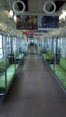 標永久 公式ブログ/空っぽの電車 画像1