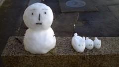 標永久 公式ブログ/雪だるま&雪ウサギ 画像1