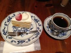 標永久 公式ブログ/甘いケーキとブラックコーヒー! 画像1