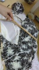 華彩なな 公式ブログ/編み編み・・・ 画像2