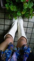 華彩なな 公式ブログ/雨女のブーツは♪ 画像1